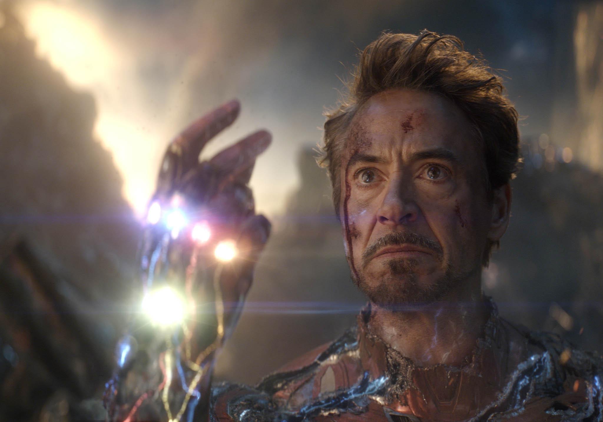 Robert Downey Jr. en Avengers: Endgame