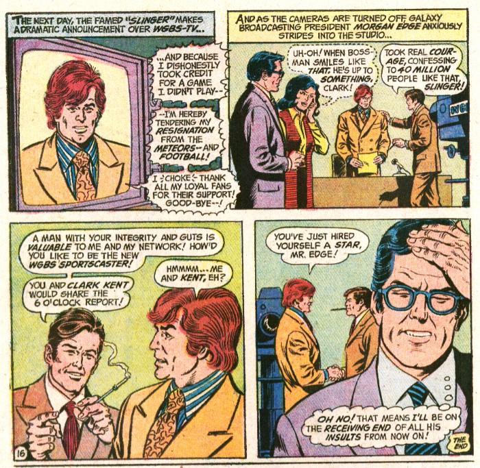 Steve Lombard en Superman Comics