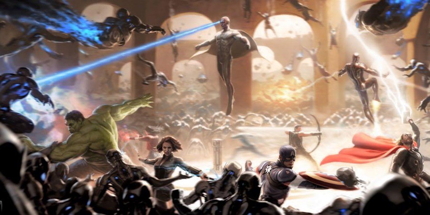 Avengers: Age of Ultron Concept Art da una nueva mirada a la batalla final