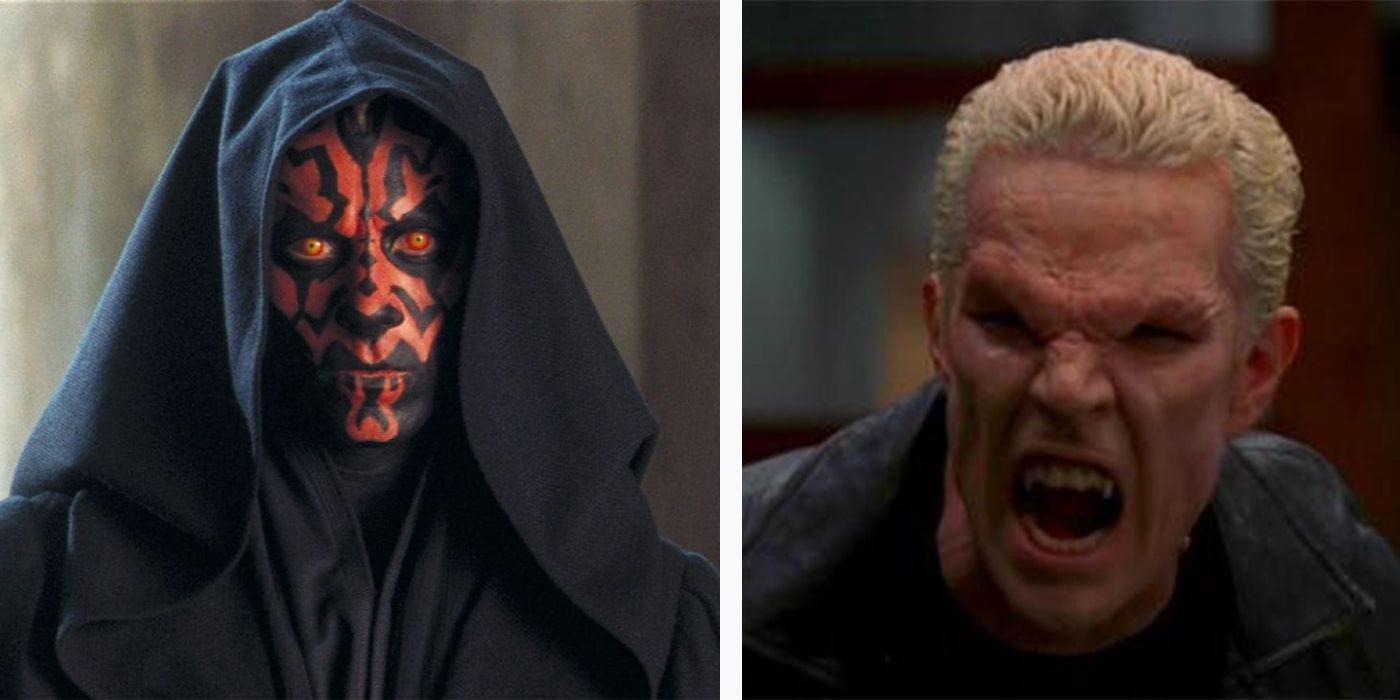 Buffy Math: Darth Maul es mejor que Vader porque Spike es mejor que Angel