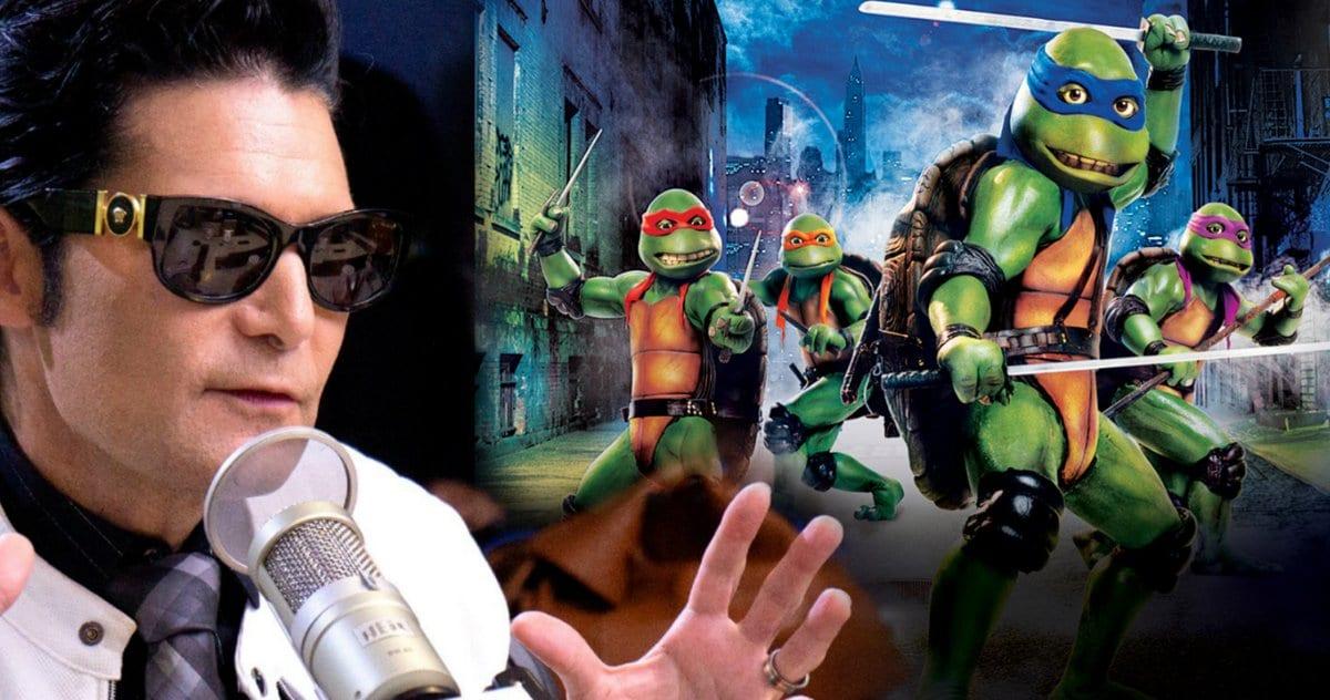 Corey Feldman se acerca a la reunión de tortugas ninjas mutantes adolescentes con un mensaje especial