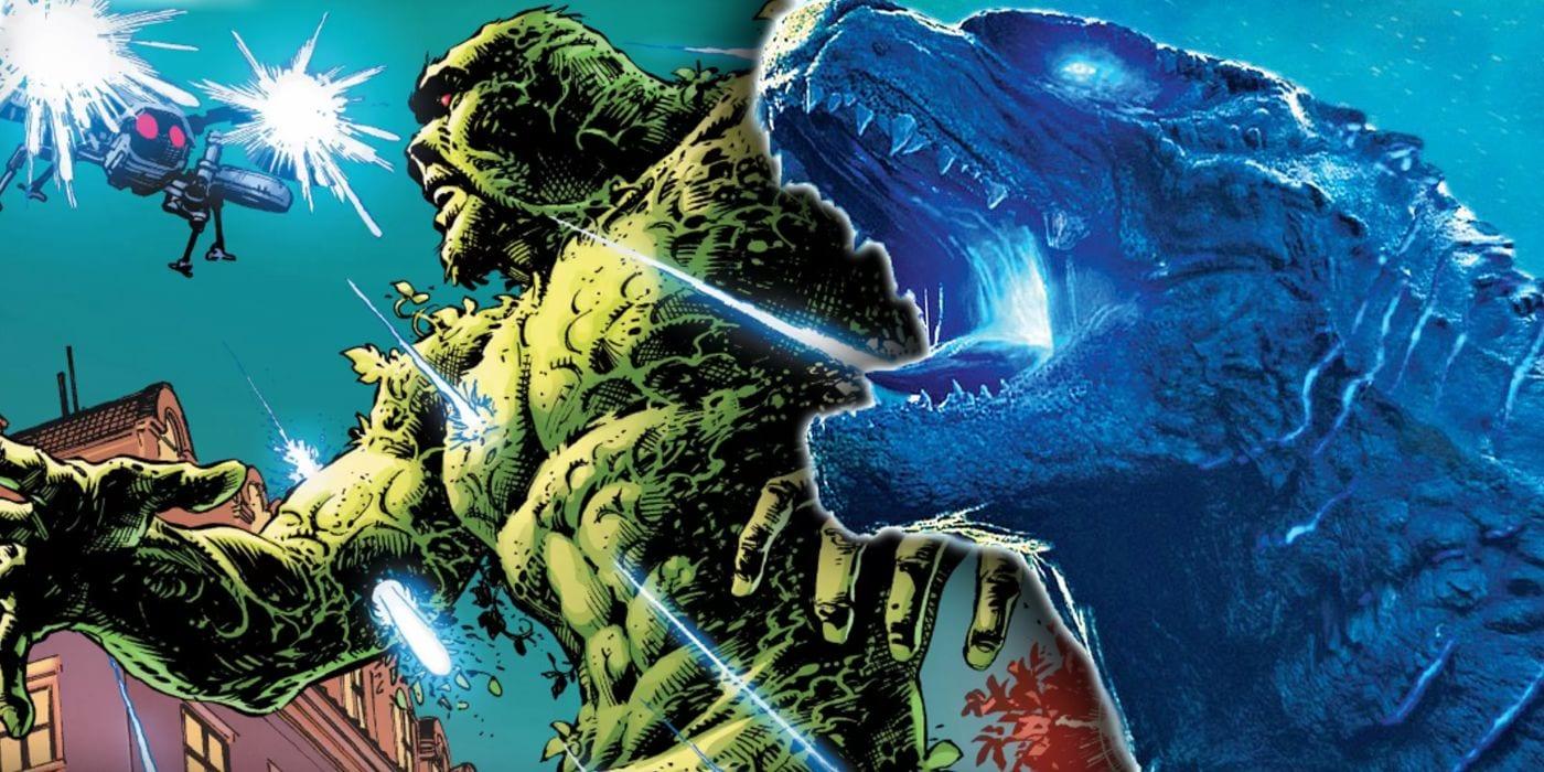 Cosa del pantano acaba de hacer su mejor impresión de Godzilla