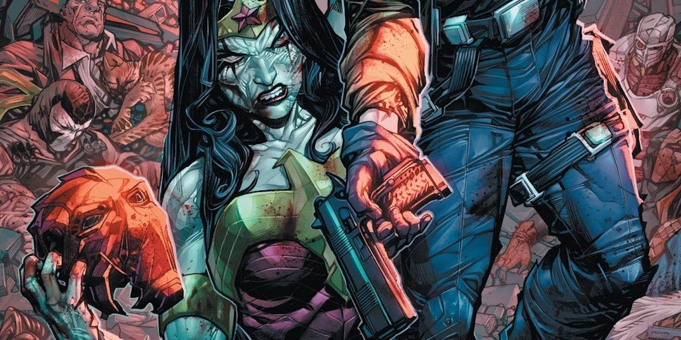 DCeased: Unkillables le dio a la Mujer Maravilla sus muertes más brutales
