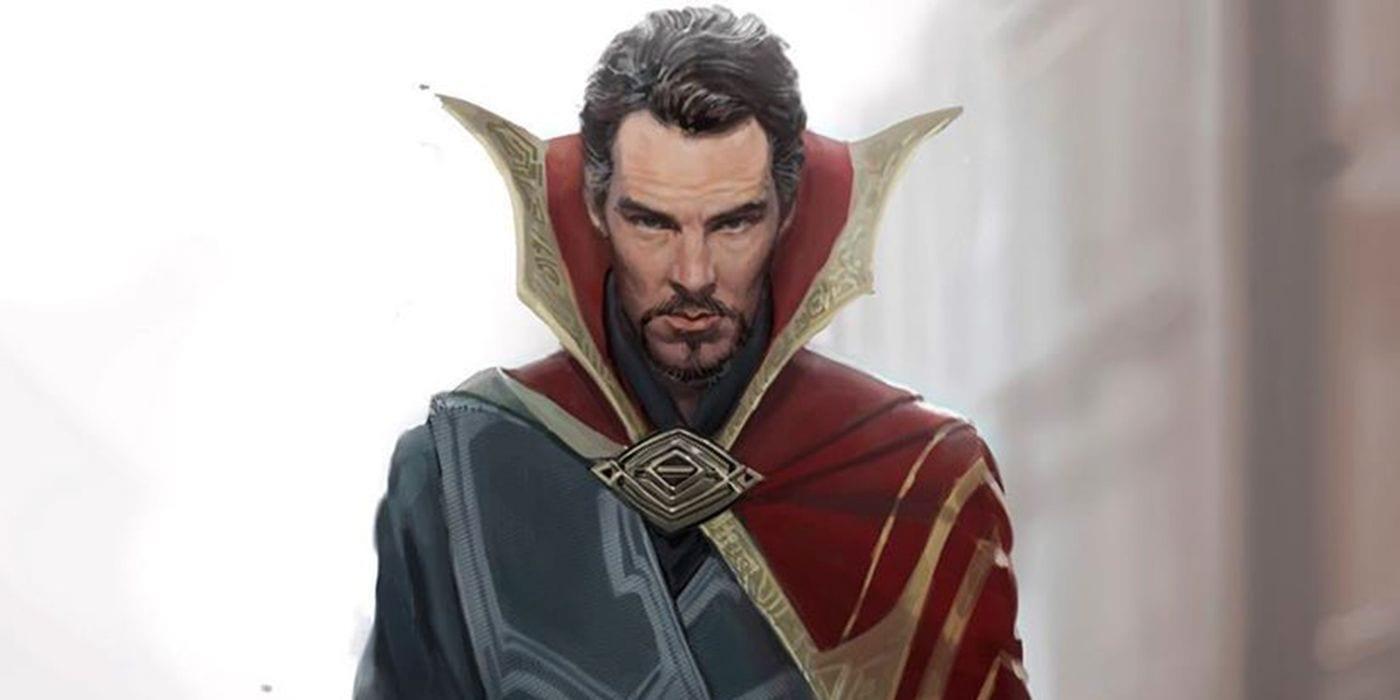 Doctor Strange obtiene una sorprendente variación de vestuario en arte conceptual no utilizado
