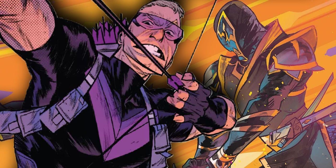 El asesino más mortal de Marvel simplemente robó la identidad de Ronin de Hawkeye