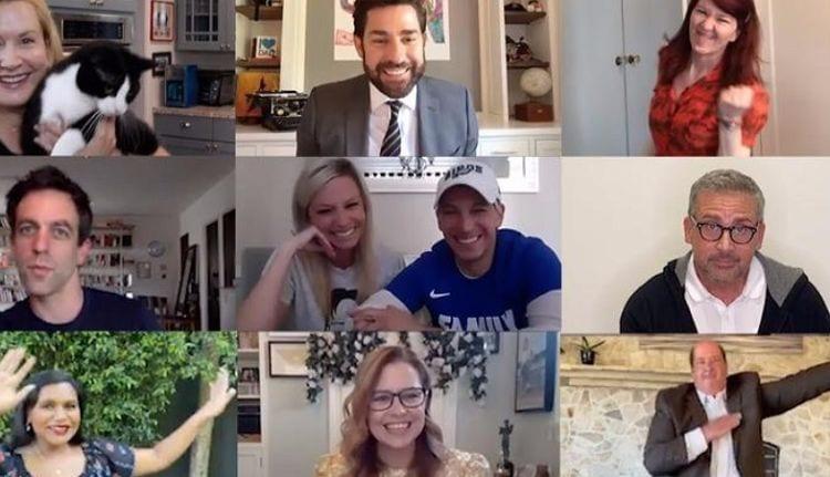El elenco de Office se reúne para una boda Zoom