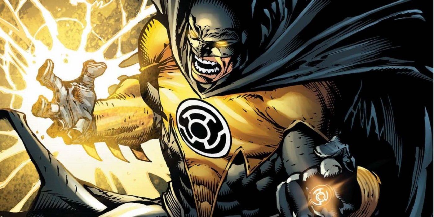 Espera, ¿por qué Batman no es una linterna amarilla?