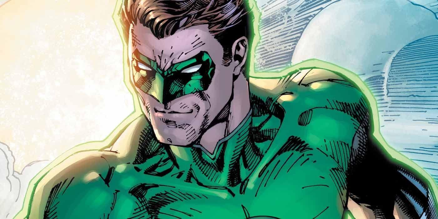 Hal Jordan vuela en la portada del 80º aniversario de Green Lantern de Jim Lee