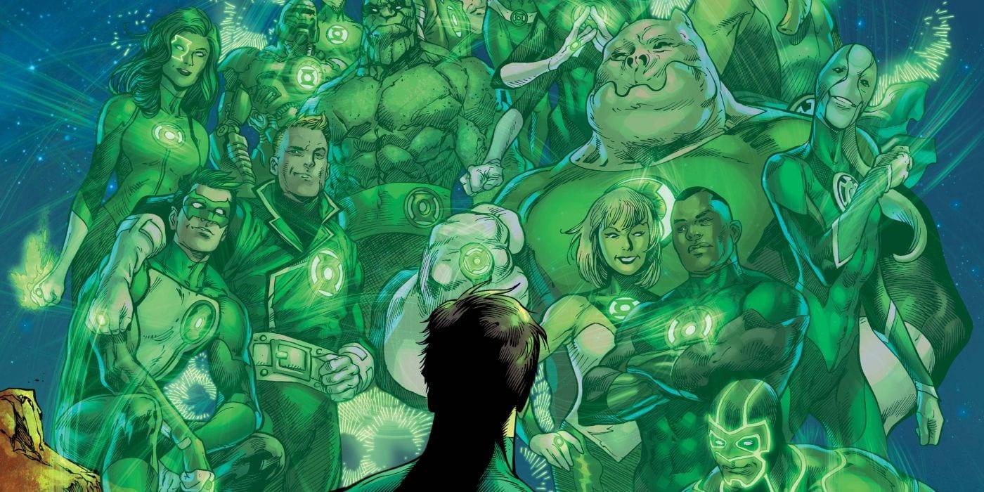 Historia de la linterna verde capturada en el primer aniversario del 80 aniversario