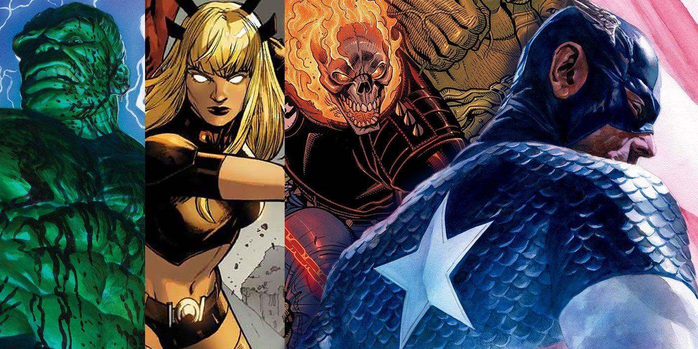 Las solicitudes de agosto de Marvel reavivan el bombo de Empyre, exploran el malvado futuro de Hulk