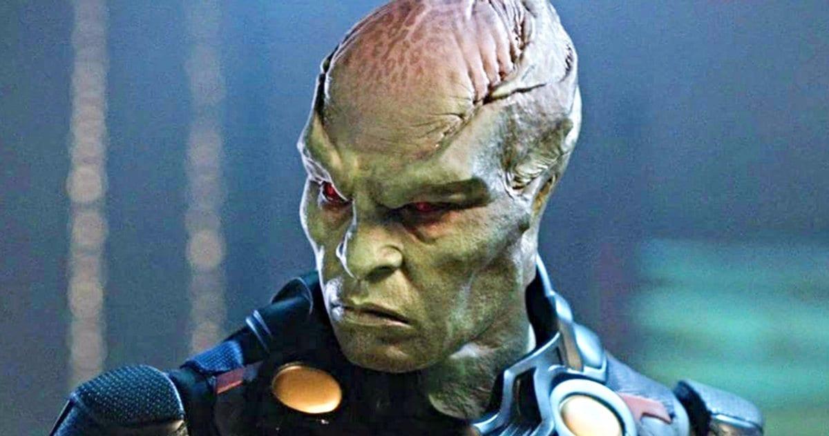 Martian Manhunter bromeó en la nueva Liga de la Justicia Snyder Cut Photo