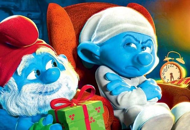 Películas navideñas menos conocidas: The Smurfs - A Christmas Carol