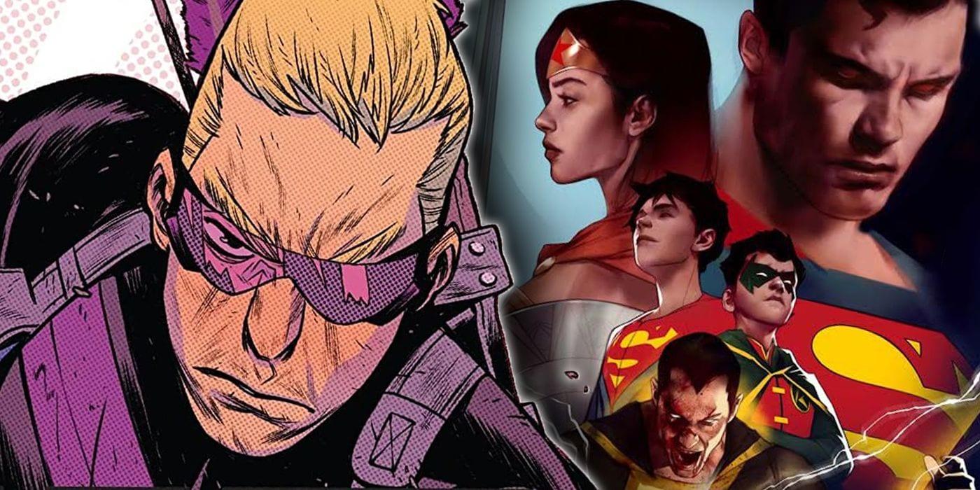 Problemas principales: DCeased sube de nuevo y la caída libre de Hawkeye continúa