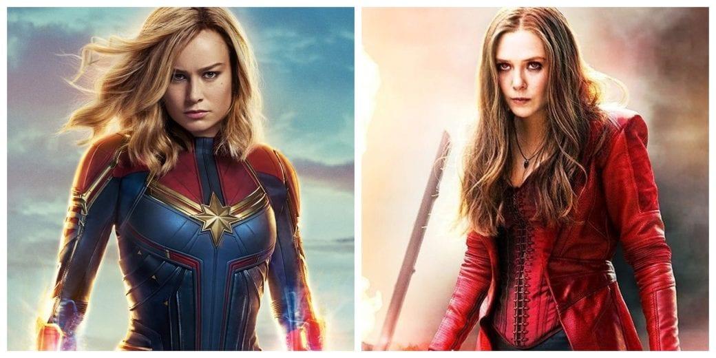 Scarlet Witch vs.Capitán Marvel: ¿Quién ganaría?