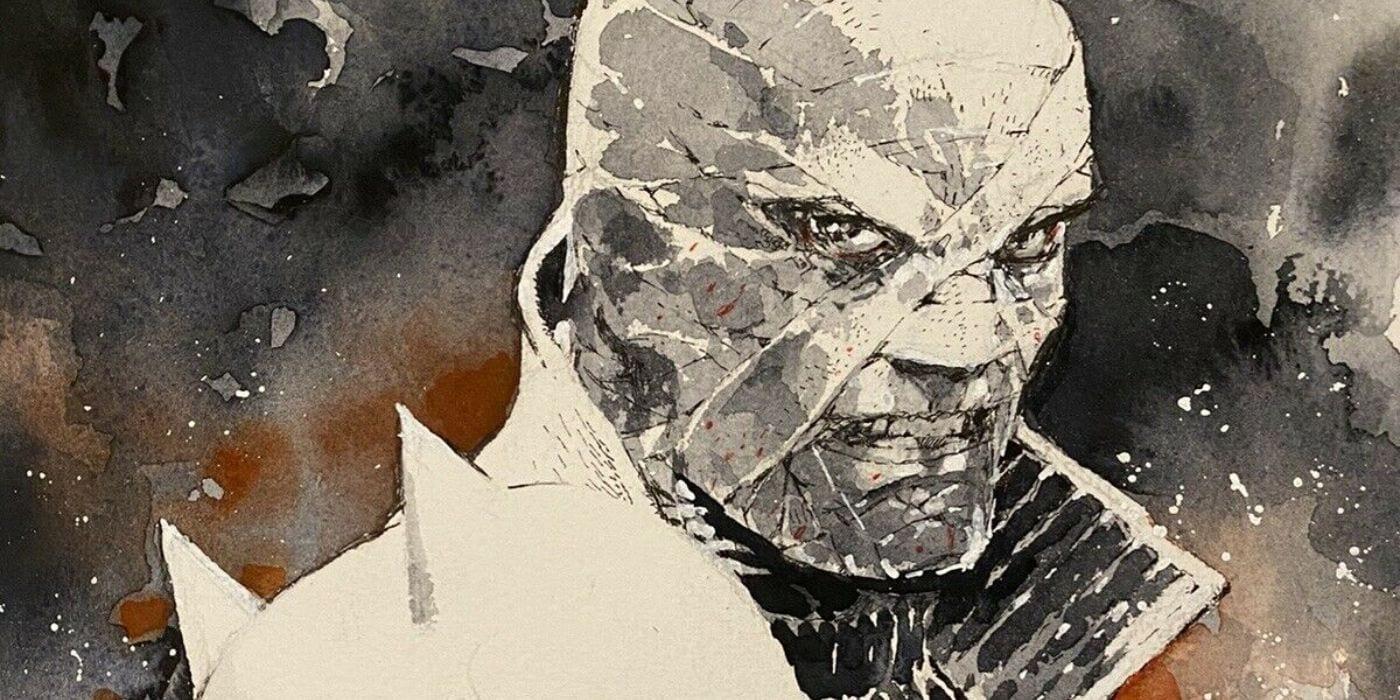 Silencio amenaza a Batman una vez más en la nueva acuarela de Jim Lee