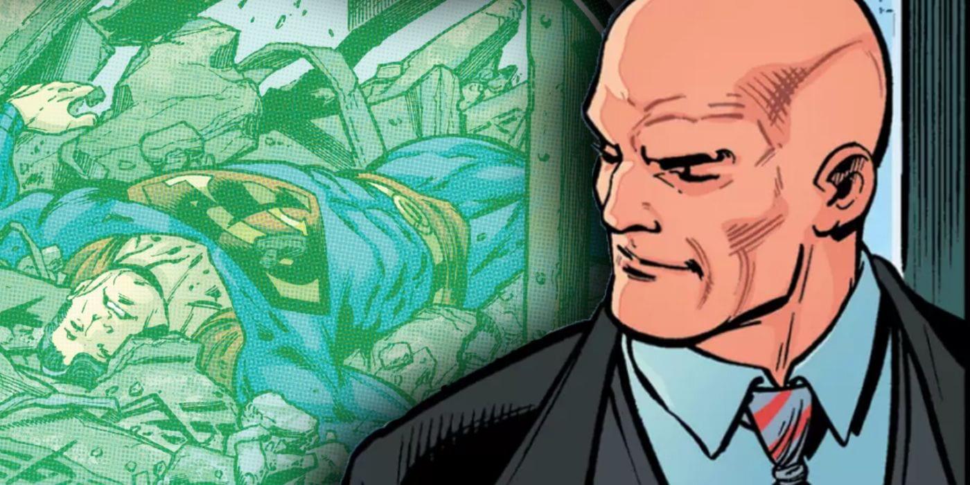 Superman: Lex Luthor acaba de ARMARIZAR a toda Metrópolis