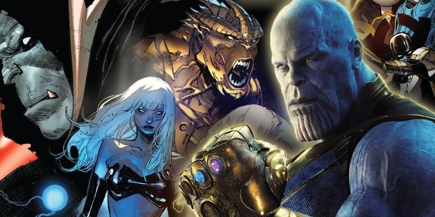 Thanos: cada miembro de la Orden Negra que NO está en la MCU