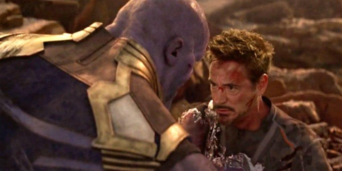 Thanos originalmente mató a Iron Man sin siquiera mover un dedo