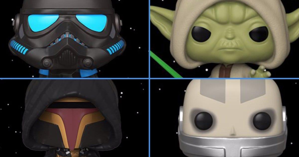 Videojuego Star Wars Funko Pop! Las cifras incluyen a Revan y Darth Malak