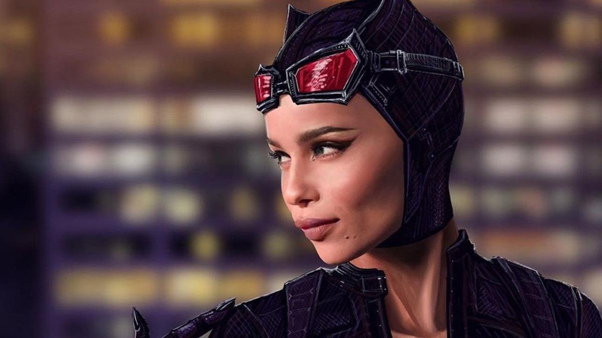 Zoe Kravitz confirmada como Catwoman en The Batman