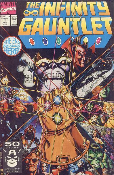 La historia de Thanos: ¡el villano cósmico de la página y la pantalla de Marvel!